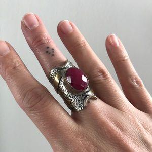 Vanessa Mooney saddle ring